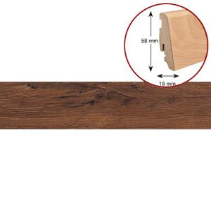 Плинтус из импрегнированной древесины (водостойкий) Haro 19/58 дерево 409406 Дуб Мореный Французский