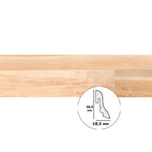 Плинтус для ламината Wineo 18.5/38.5 МДФ 30030367 Noble Maple