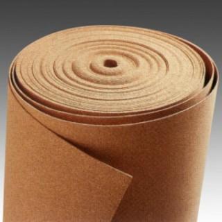 Пробковая подложка 3 мм (рулонная) плотность 200 кг/м3